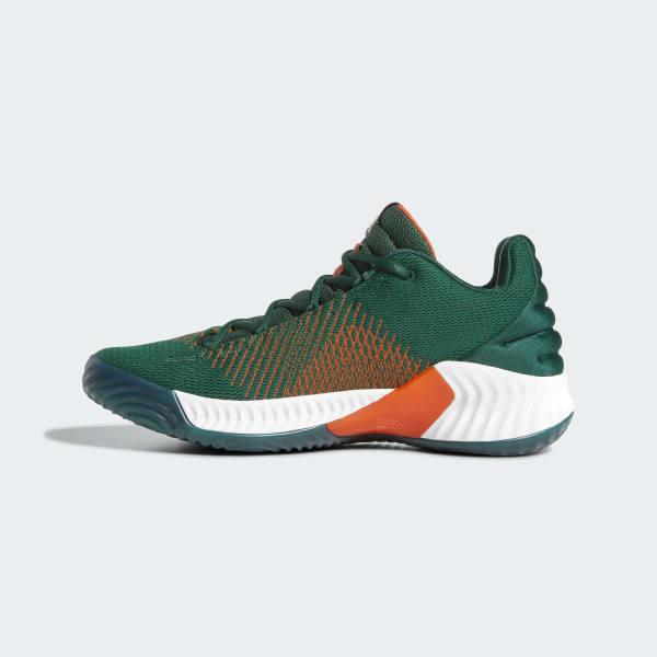 9df7422002a17 uk pro bounce 2018 low shoes green b41867 7b502 a46c4