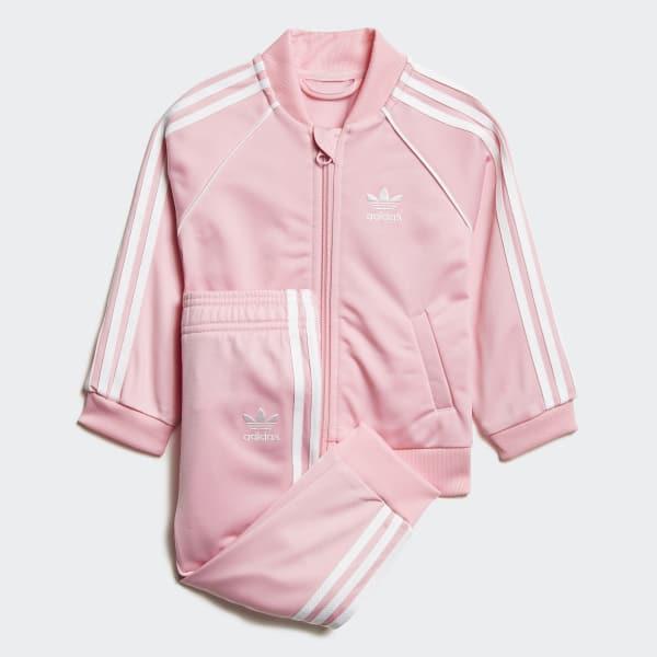 0d762661d830 adidas SST Track Suit - Pink