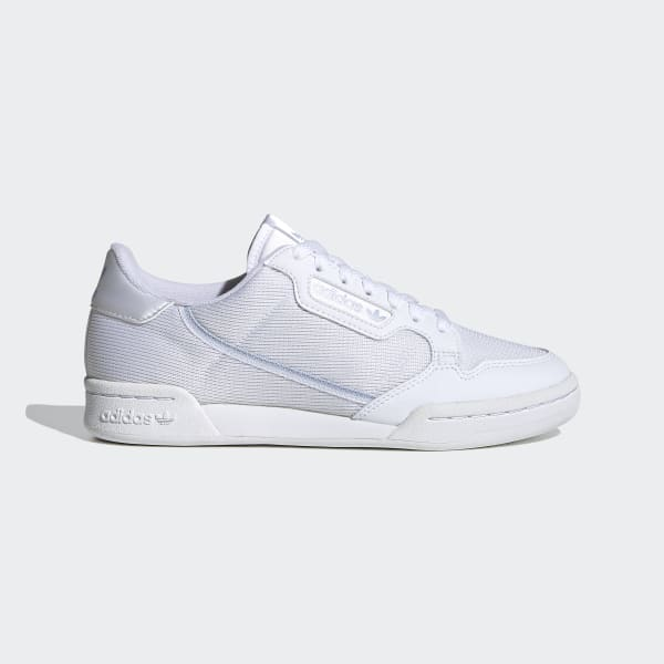 Women's Continental 80 White & Silver Shoes | adidas US