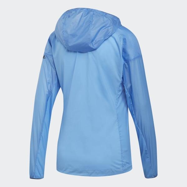 adidas TERREX Agravic Alpha Hooded Shield Jacke Blau | adidas Austria