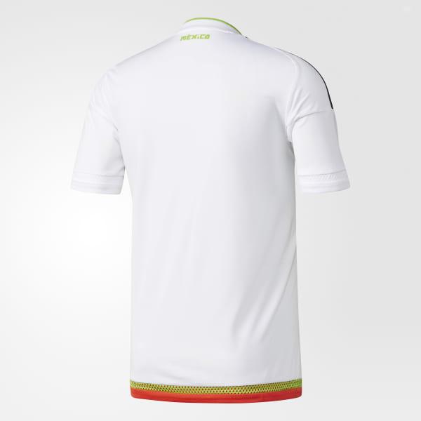 Camisa México 2 - Branco adidas  aad7f4ba57db3