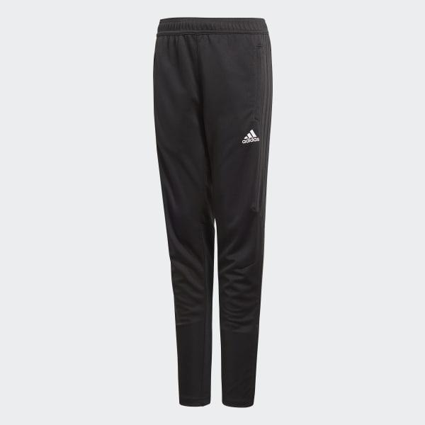 bk0351 Adidas Enfants Tiro 17 Jogging Long Poil Noir