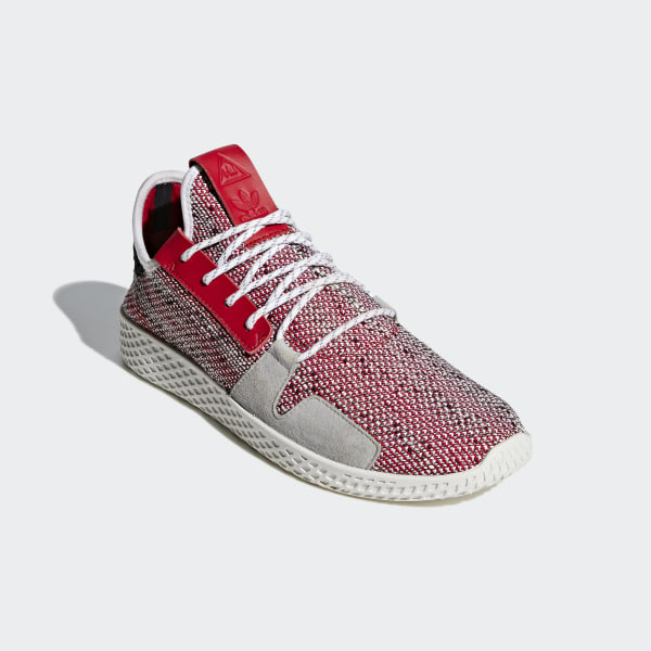 adc1c11f60c32 adidas Men s Pharrell Williams SOLARHU Tennis V2 Shoes - Red ...