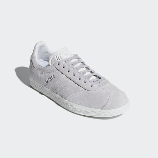 29e29aa2d8e adidas Gazelle Stitch and Turn Shoes - Grey | adidas US