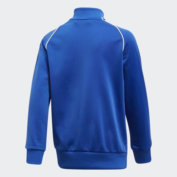 fe39f841864 Agasalho Trefoil SST - Azul adidas