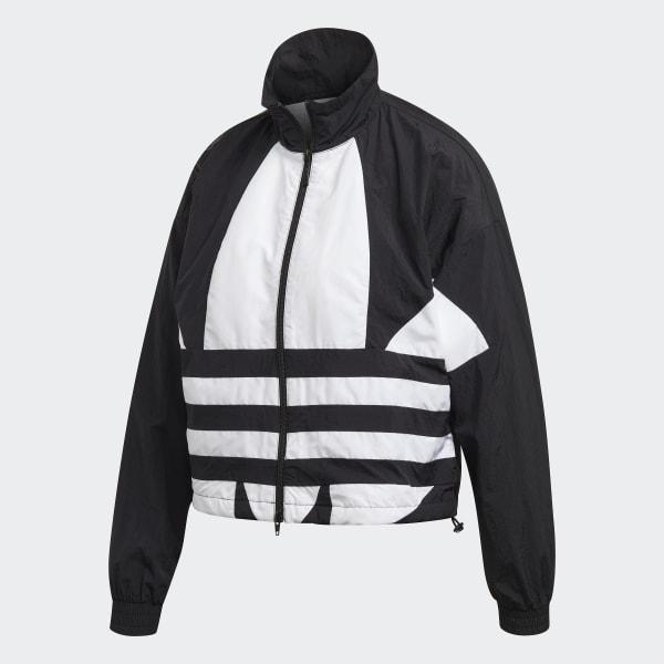 Originals Big Logo Damen Trainingsjacke in Schwarz | adidas