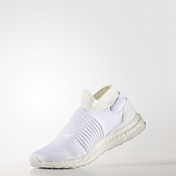 af3a695fcf9 adidas UltraBOOST Laceless Shoes - White
