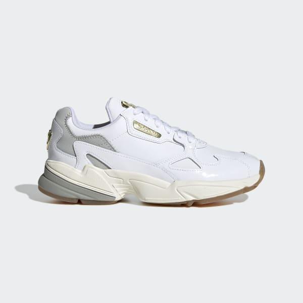 adidas falcon femme blanche
