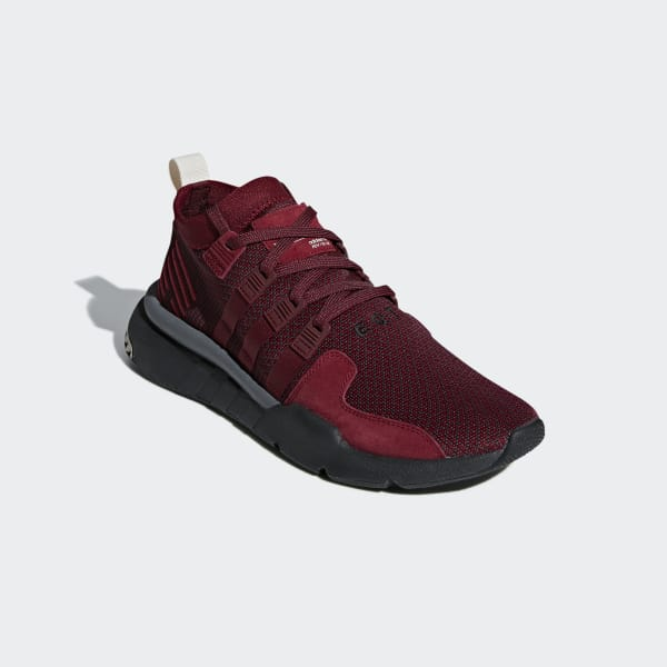 timeless design 16d88 29bd4 adidas EQT Support Mid ADV Shoes - Burgundy | adidas UK