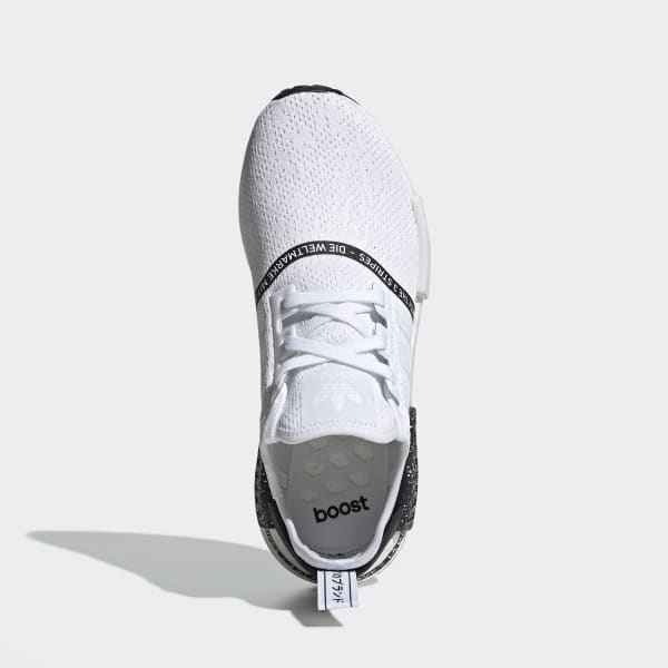 Men S Nmd R1 Cloud White And Black Shoes Adidas Us