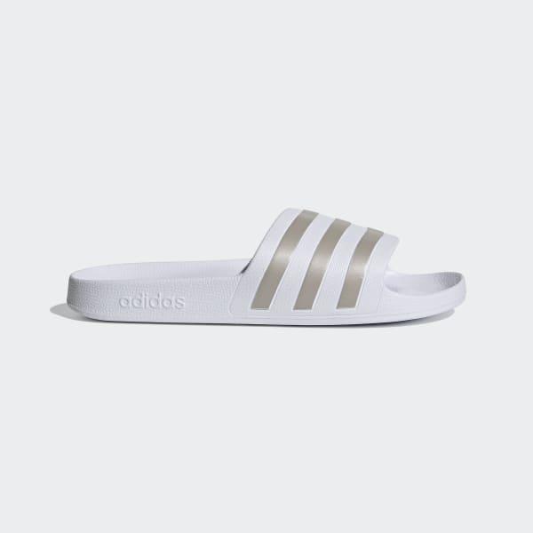 Claquette Adilette Aqua Blanc adidas | adidas France