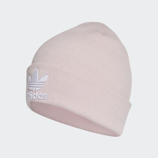 adidas Trefoil Beanie - Pink  b6938f0d949