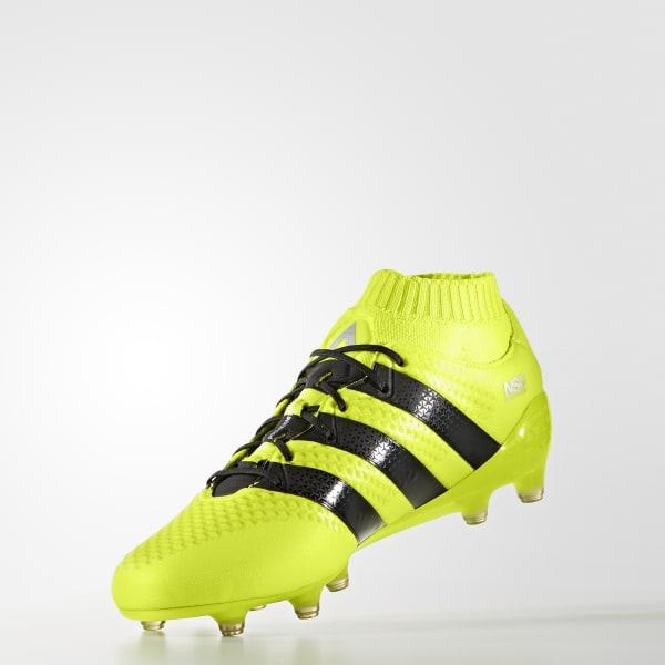Zapatos para césped seco ACE 16.1 Primeknit - Amarillo adidas ... 4cdb81b859f26