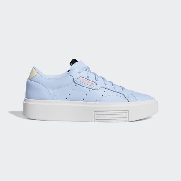 blue adidas sneakers for ladies