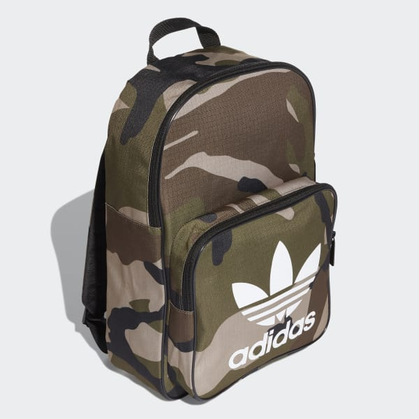 1807a769691d adidas Classic Camouflage Backpack - Green