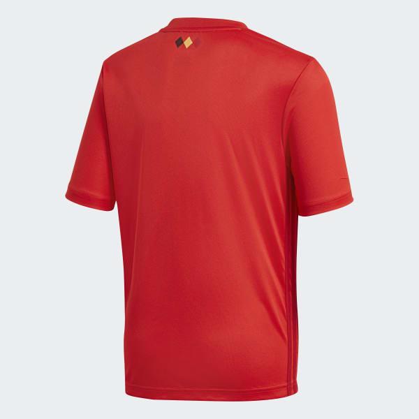 Camisa Oficial Bélgica 1 Infantil 2018