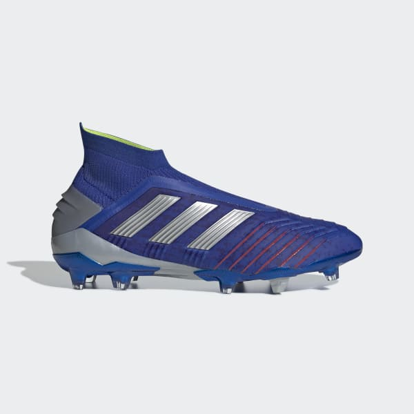 1de652a21b5f adidas Predator 19+ Firm Ground Cleats - Blue   adidas US