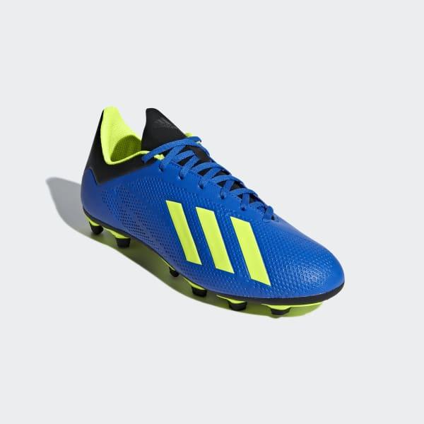 timeless design 2a709 a1679 Chuteira X 18.4 Fxg - Azul adidas   adidas Brasil