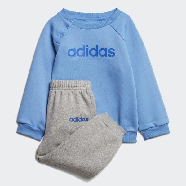 Tuta Linear Fleece Jogger Blu adidas | adidas Italia