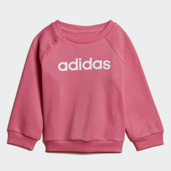 a9c72f172134d Ensemble sportswear Linear Fleece - rose adidas