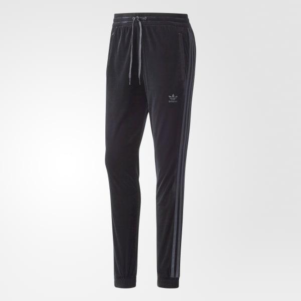bd8975baa100 adidas Velvet Vibes SST Track Pants - Black