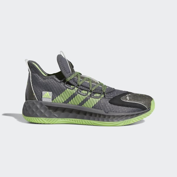 adidas Pro Boost Low Shoes - Grey