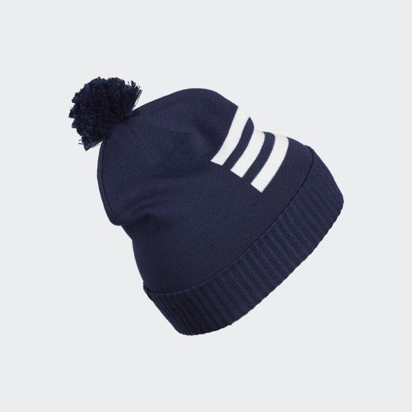 Berretto 3-Stripes Pompom - Blu adidas  97b2a102acad
