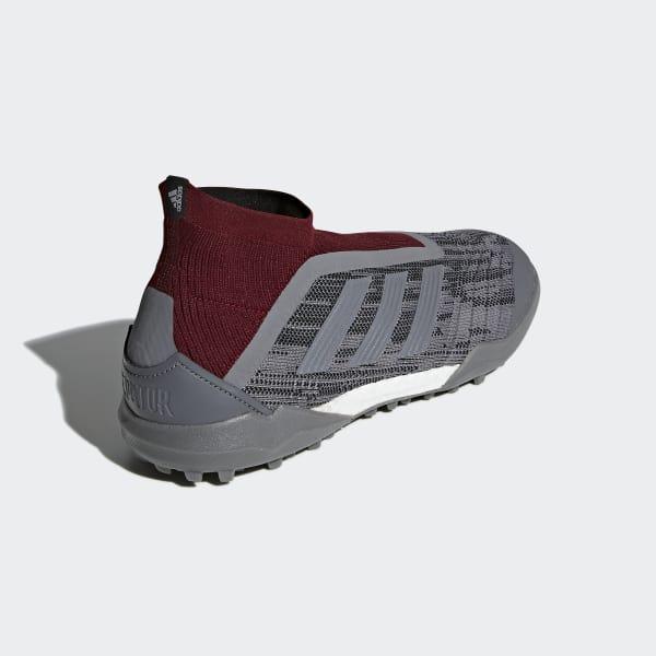 adidas Paul Pogba Predator 18+ Turf Boots - Grey  4e695c3088c13
