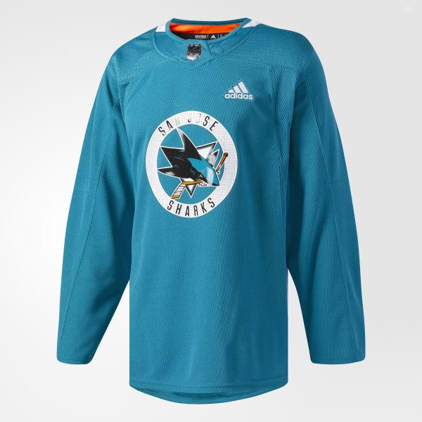 sale retailer 62ea3 aa92d adidas Sharks Authentic Practice Jersey - Multicolor   adidas US