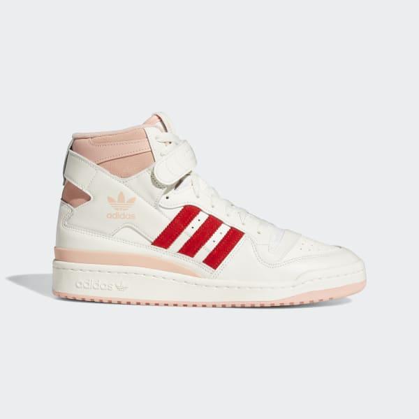 adidas Forum 84 Hi Shoes - White   adidas US
