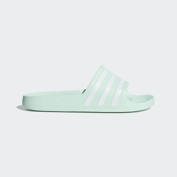 adidas Adilette Aqua Slides - Green