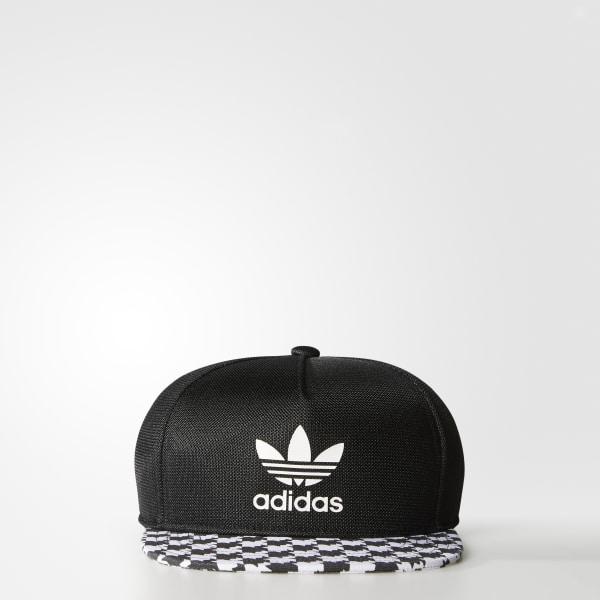 Gorra Soccer Snap-Back BLACK WHITE AJ8711 26efced3290