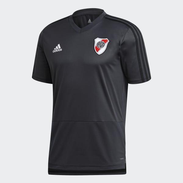 f50de673e adidas Camiseta de Entrenamiento Club Atlético River Plate - Gris ...