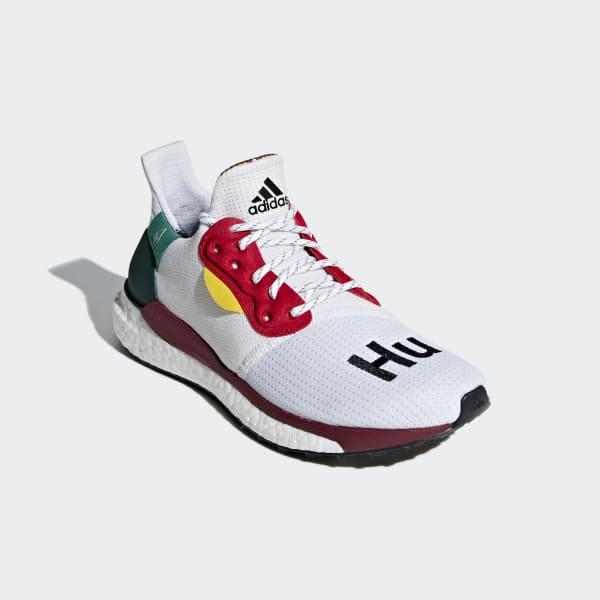 91bc25069 adidas Pharrell Williams x adidas Solar Hu Glide ST Shoes - Red ...