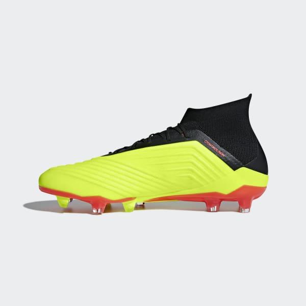 Zapatos de Fútbol Predator 18.1 Terreno Firme - Amarillo adidas ... a69cd6f7b2fc8