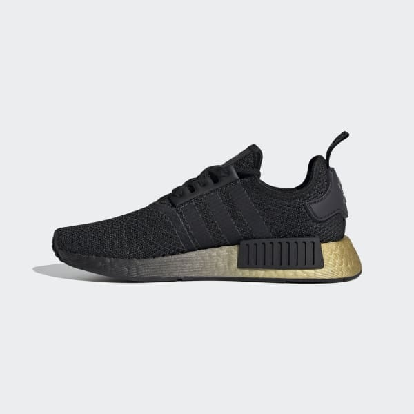 NMD R1 Black and Gold Shoes | adidas