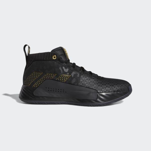 adidas Dame 5 Marvel Shoes - Black
