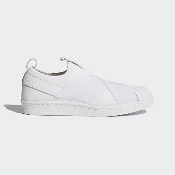 Tênis Superstar Slip-on - Branco adidas  ef06c2da80c