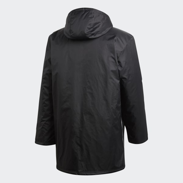 8add9648 adidas Core 18 Stadium Jacket - Black | adidas UK