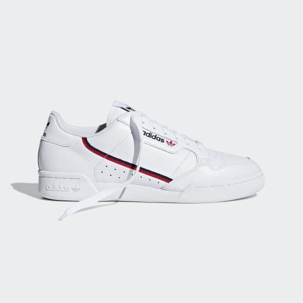 adidas Кроссовки Continental 80 белые