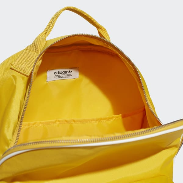 9697f02e119 adidas Classic Backpack - Yellow | adidas US