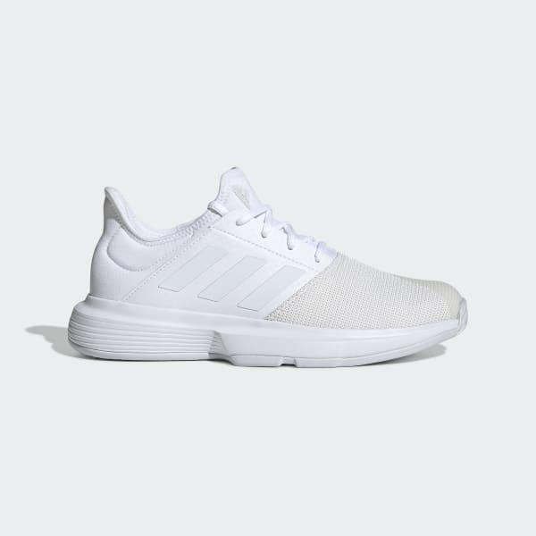 Adidas Gamecourt Shoes White Adidas Uk