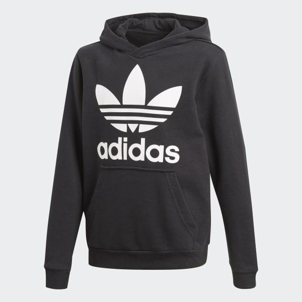 adidas Sweat shirt à capuche Trefoil gris | adidas Canada