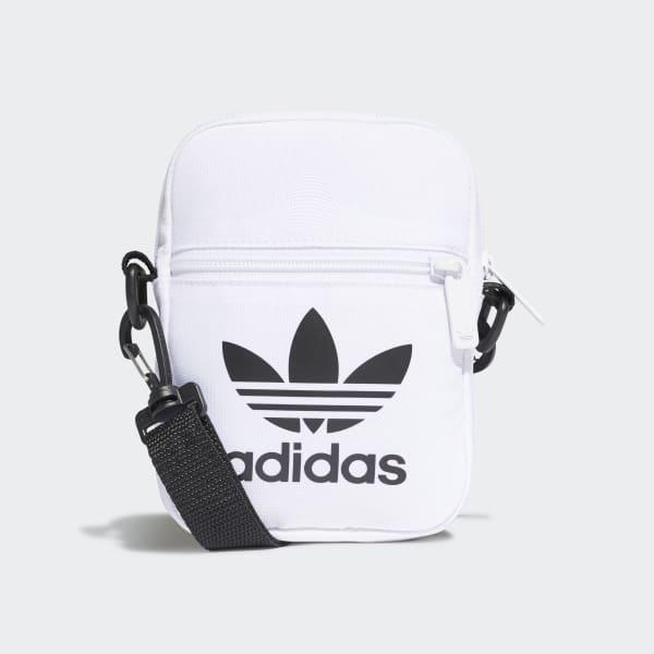 adidas Trefoil Festival Bag - White