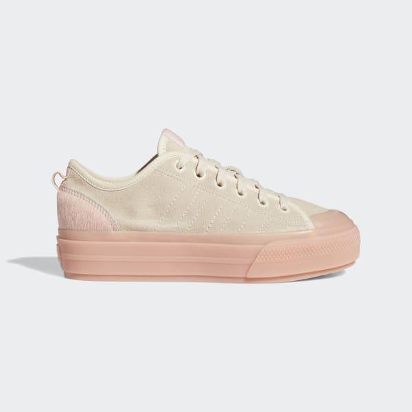 adidas Nizza RF Platform Shoes - Beige