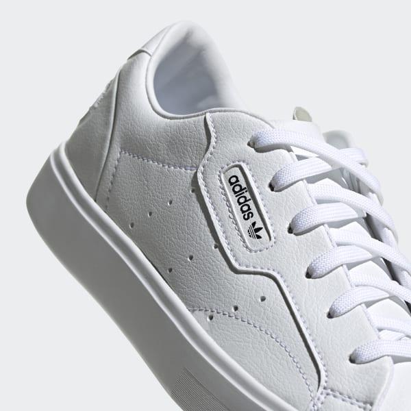 Les baskets vegan Adidas Chaussure adidas Sleek Vegan - Blanc adidas | adidas France