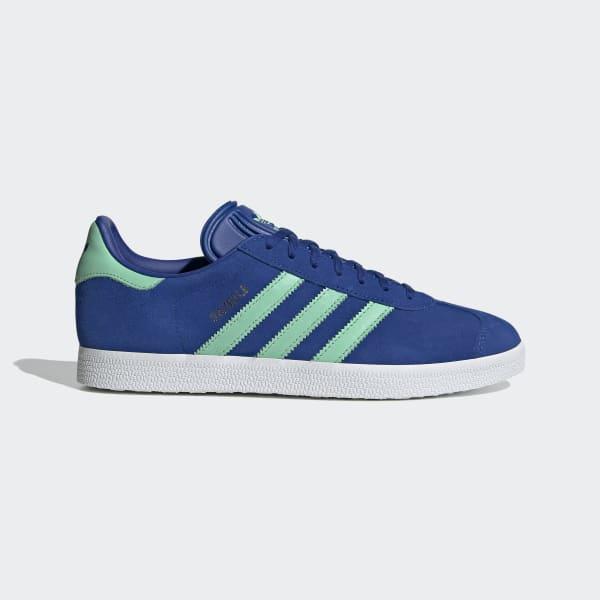 adidas donna gazelle blu