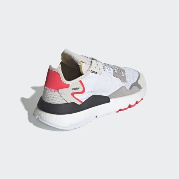 adidas Nite Jogger Shoes - White