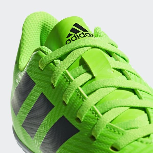 713944193ee92 Chimpunes Messi Tango 18.4 Bajo Techo Niño - Verde adidas