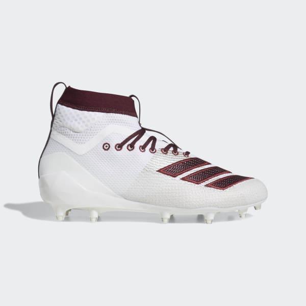 adidas Adizero 8.0 SK Cleats - White